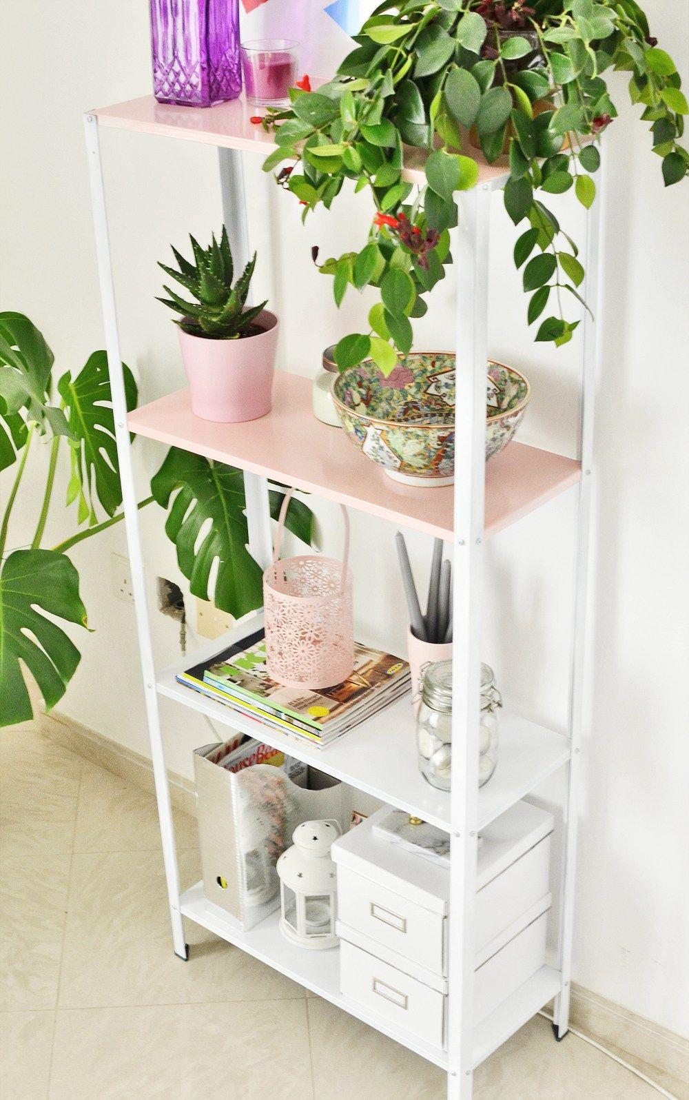 IKEA Hack: DIY Half Pink Shelf
