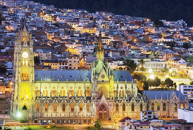 The high life: Fabulous food and altitude excitement in Ecuador's quirky capital Quito. http://www.galapagosexpeditions.com/tours/quito-galapagos-tour.php