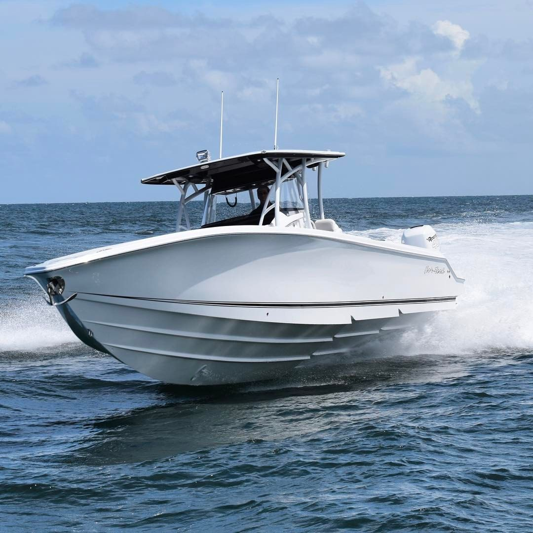 Nortech stepped hull center console. Center console