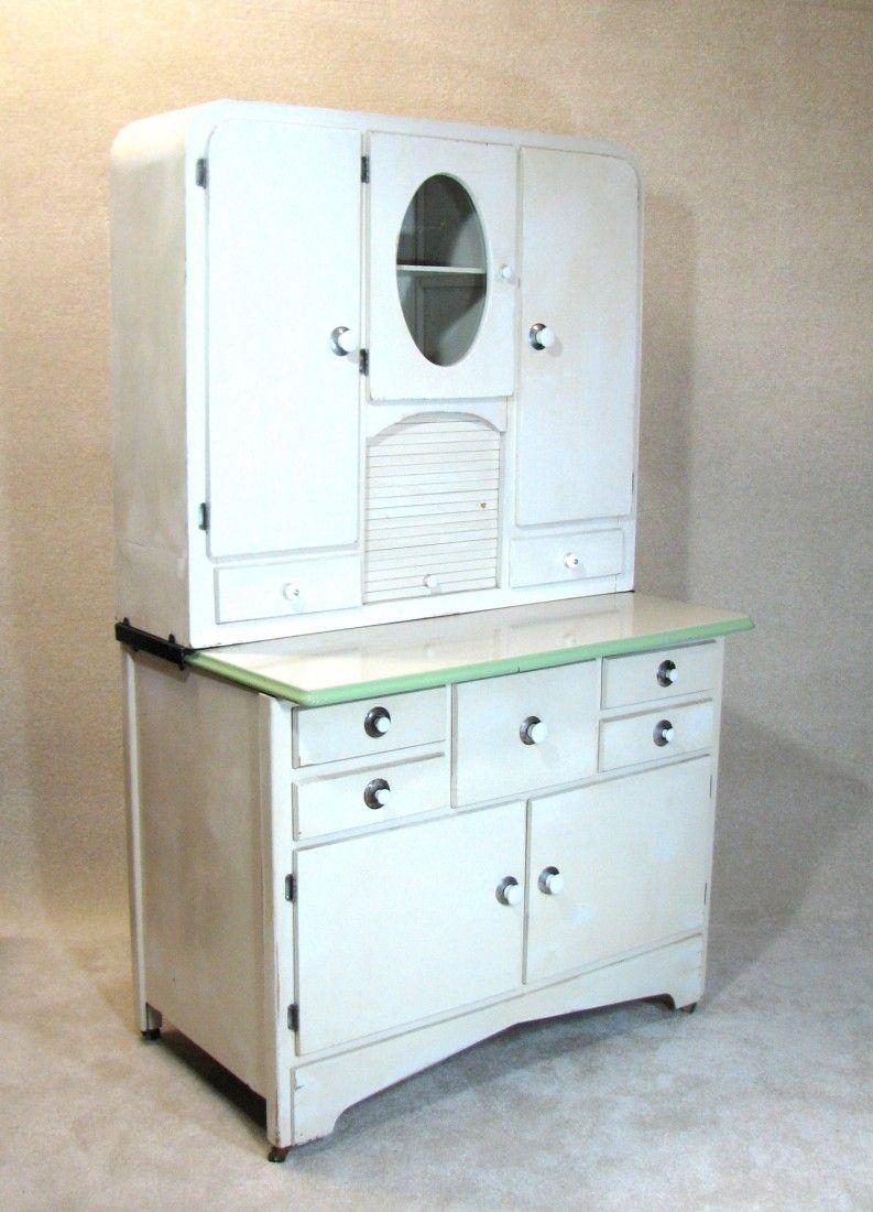 Image Detail For Art Deco Hoosier Cabinet Lot 49 With Images Hoosier Cabinet Art Deco Furniture Antique Hoosier Cabinet