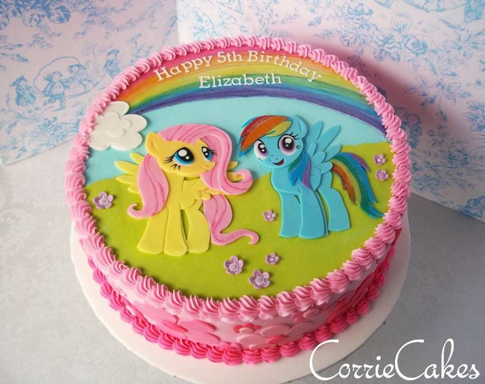 An Awesome My Little Pony Cake By Corrie Cakes My Little Pony