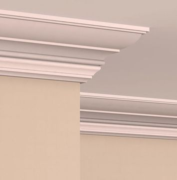 Interior Crown Moulding Cr1006 By Mouldex Mouldings Starting At 22 56 Per 8 Length Ceiling Design Door Design Interior