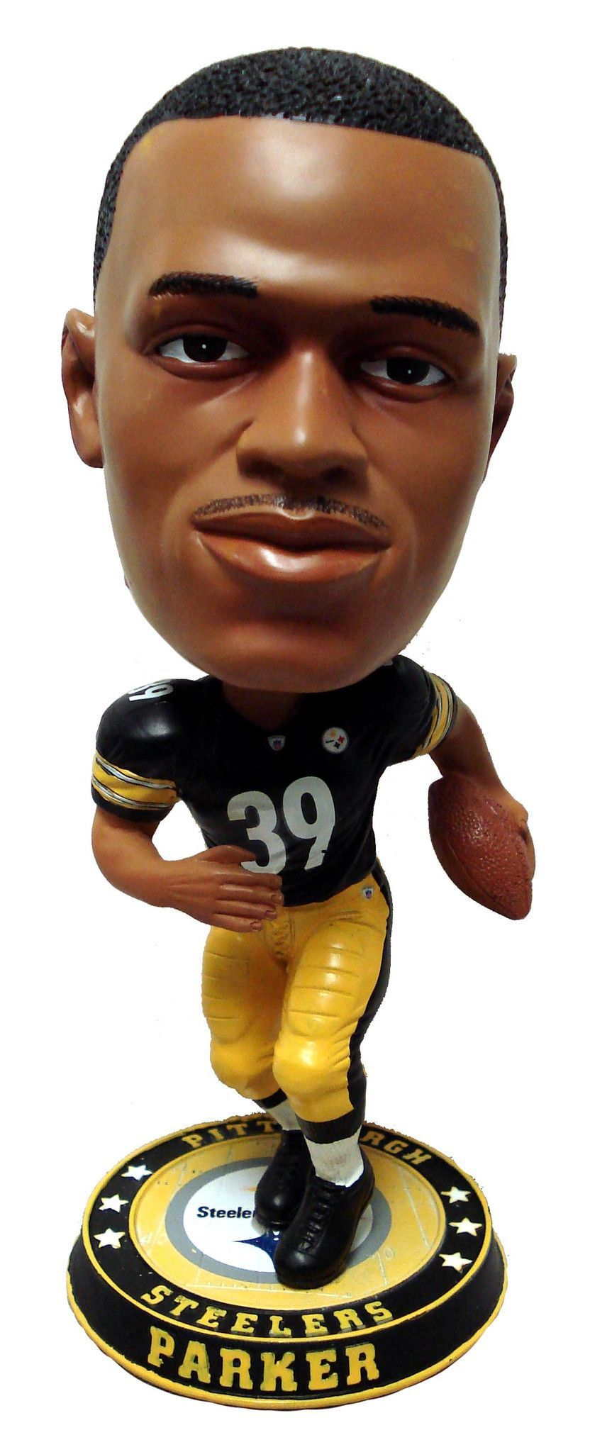 Pittsburgh Steelers Parker W. #39 2008 Bighead Bobble Road