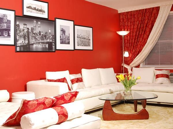 Red Living Room Decorations | Pinterest