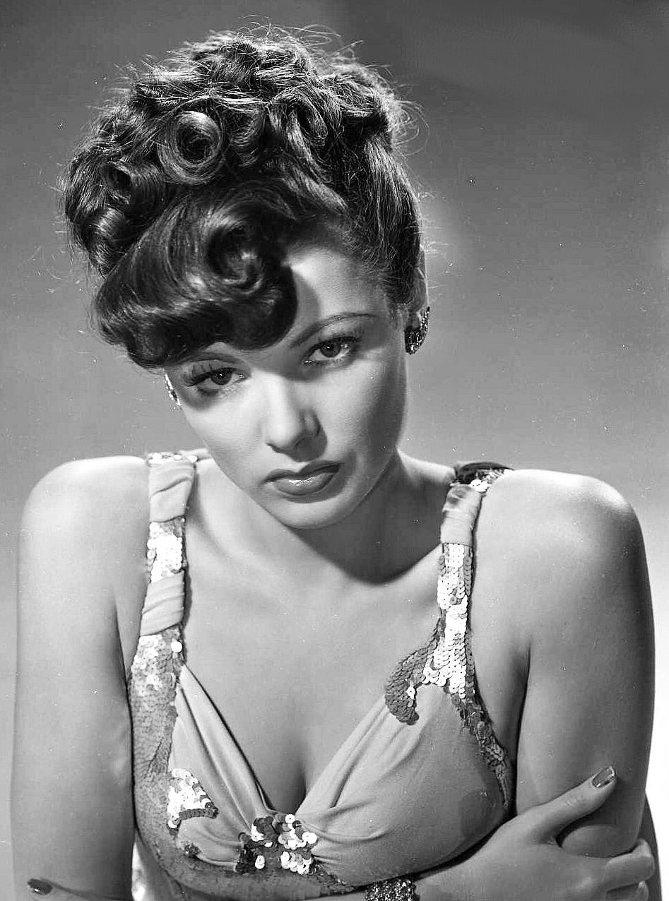 Gene Tierney for The Shanghai...
