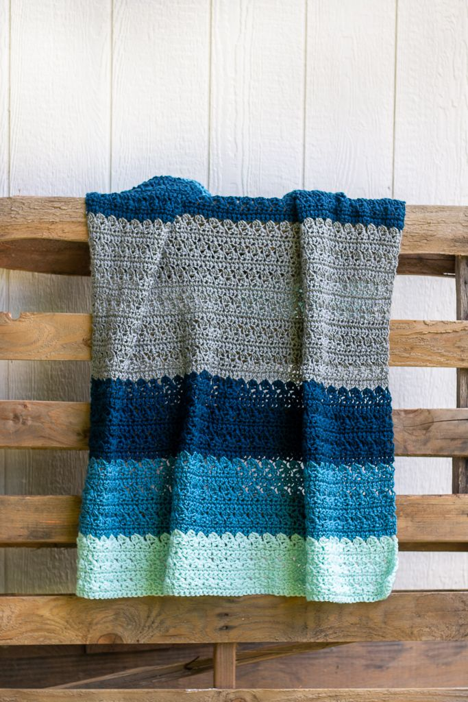 Photo of Crochet Baby Blanket Pattern