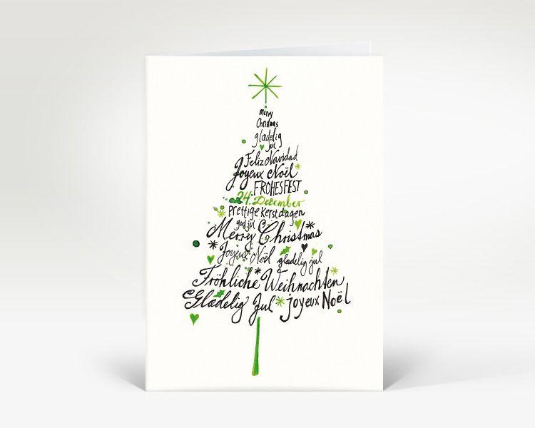 weihnachtskarte weihnachtsbaum international designer weihnachtskarte dk499 advent