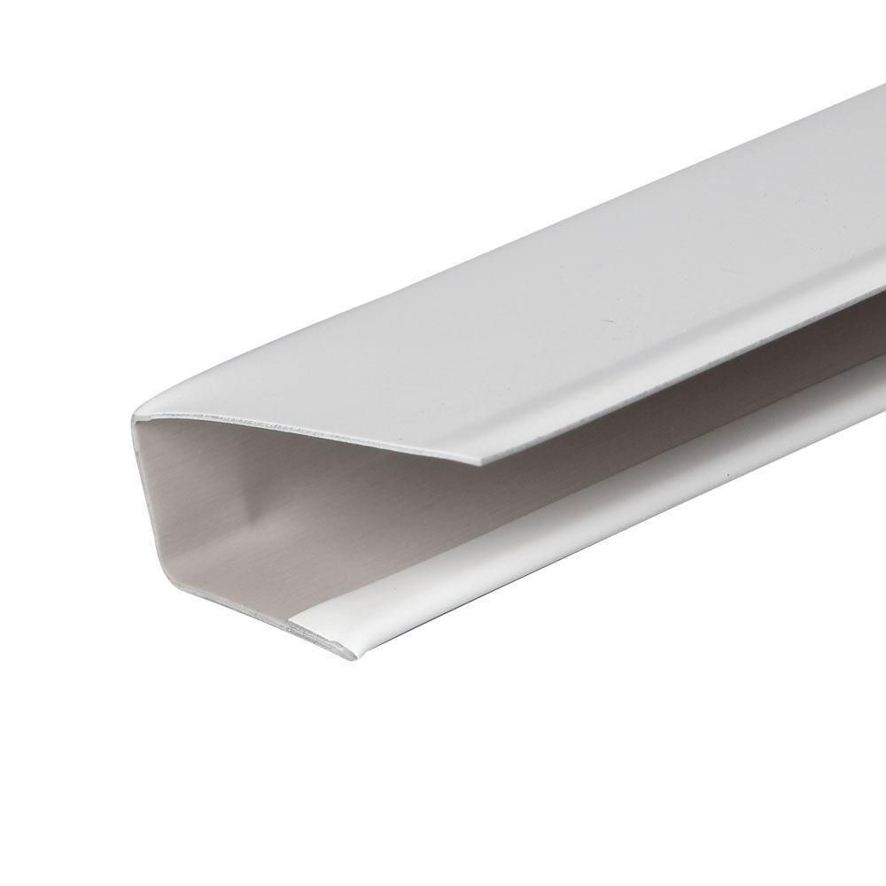 Amerimax Home Products 1 In X 144 In Fascia Runner 77014 The Home Depot Siding Trim Metal Siding Fascia