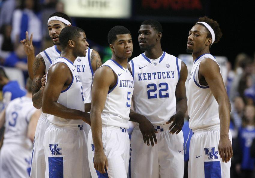 2014 2015 Kentucky Wildcats Basketball Has Nba Gm S Excited Kentucky Wildcats Basketball Kentucky Kentucky Wildcats