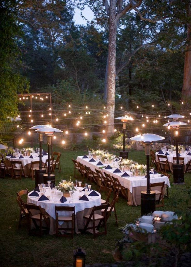 40 Romantic Backyard Wedding Decor Ideas On a Budget ...