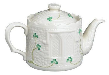 Amazon Belleek Castle Teapot Teapots Belleek China
