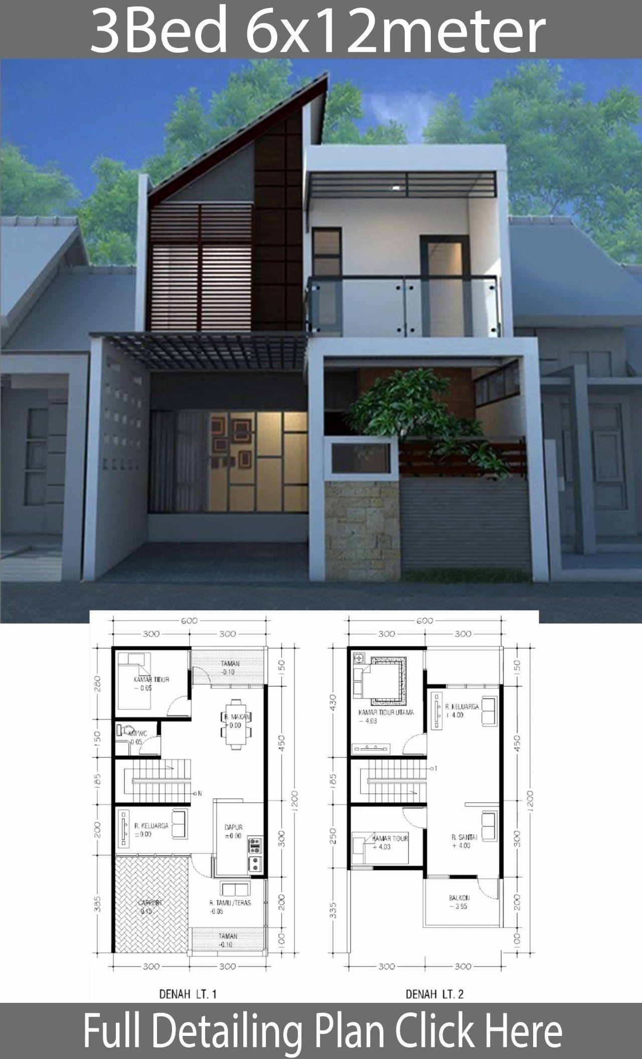 150 000 House Plans Inspirational Minimalist Home Design On Land Of 6m X 12m Rumah Beton Arsitektur Rumah Desain Rumah 2 Lantai