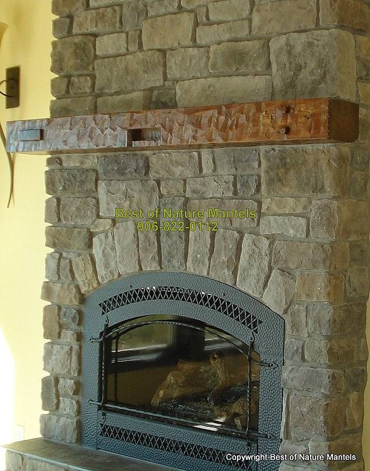 Rustic Wood Mantel Washington For The Home Pinterest
