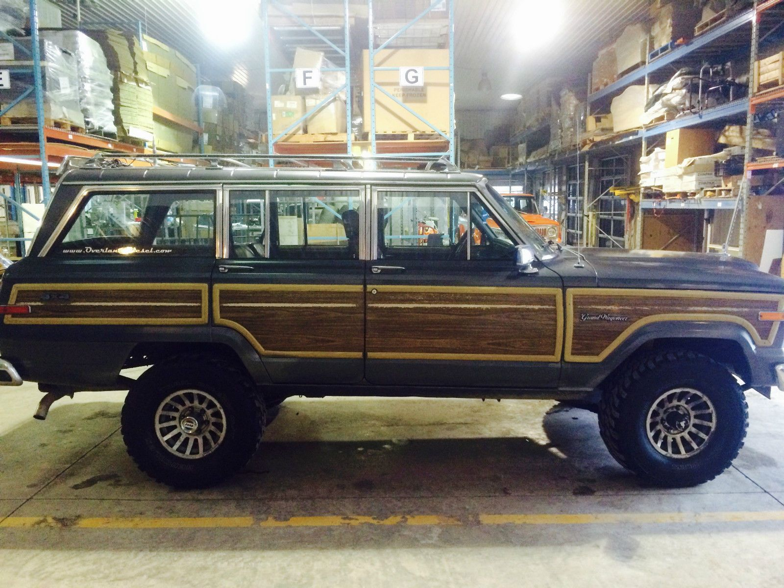Jeep: Wagoneer Grand | Jeep wagoneer, Jeeps and Motor car
