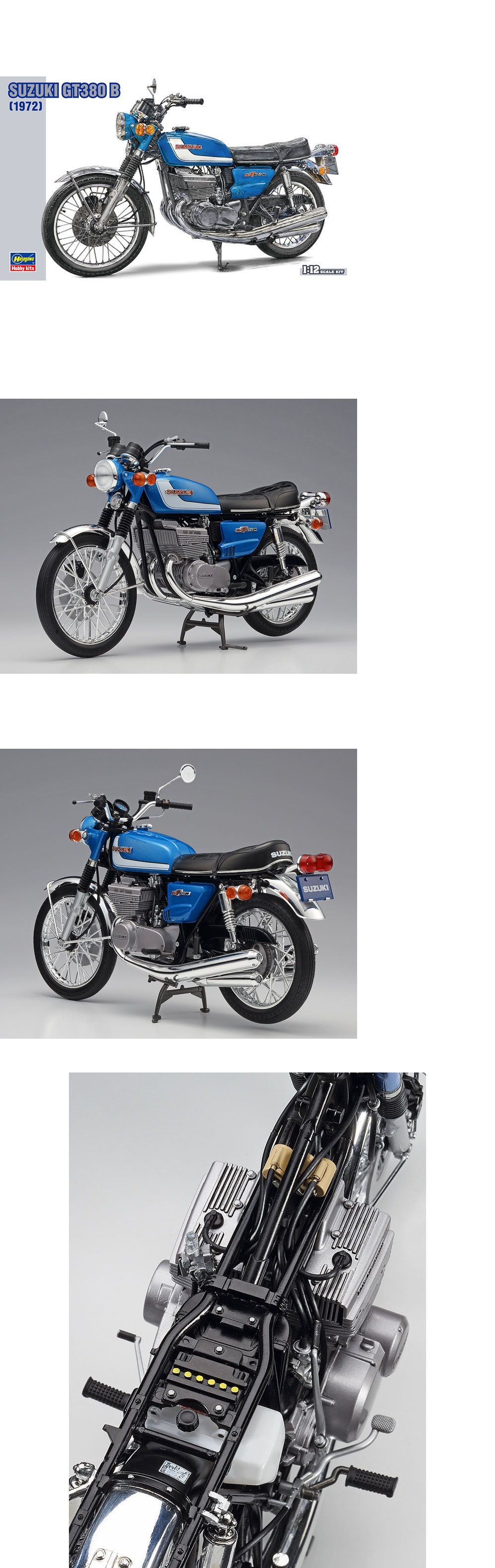 Motorcycle 2591: Hasegawa #21505 1 12 Suzuki Gt380 B -> BUY