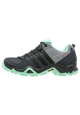 Adidas Performance Ax2 Tursko Vista Grey Core Black Green Glow Zalando No Fjellsko Adidas Black