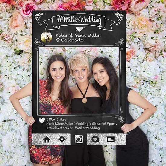 Cornici Per Foto Instagram.7 Cornici Per Photo Booth Low Cost E Fai Da Te Photo Booth
