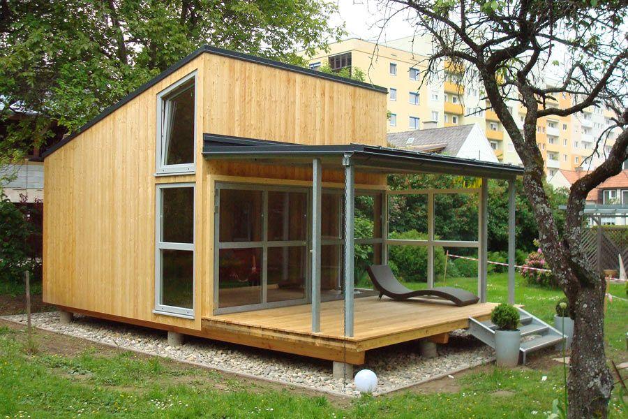 GartenhausmitTerrasse Gartenhaus, Gartenhaus selber