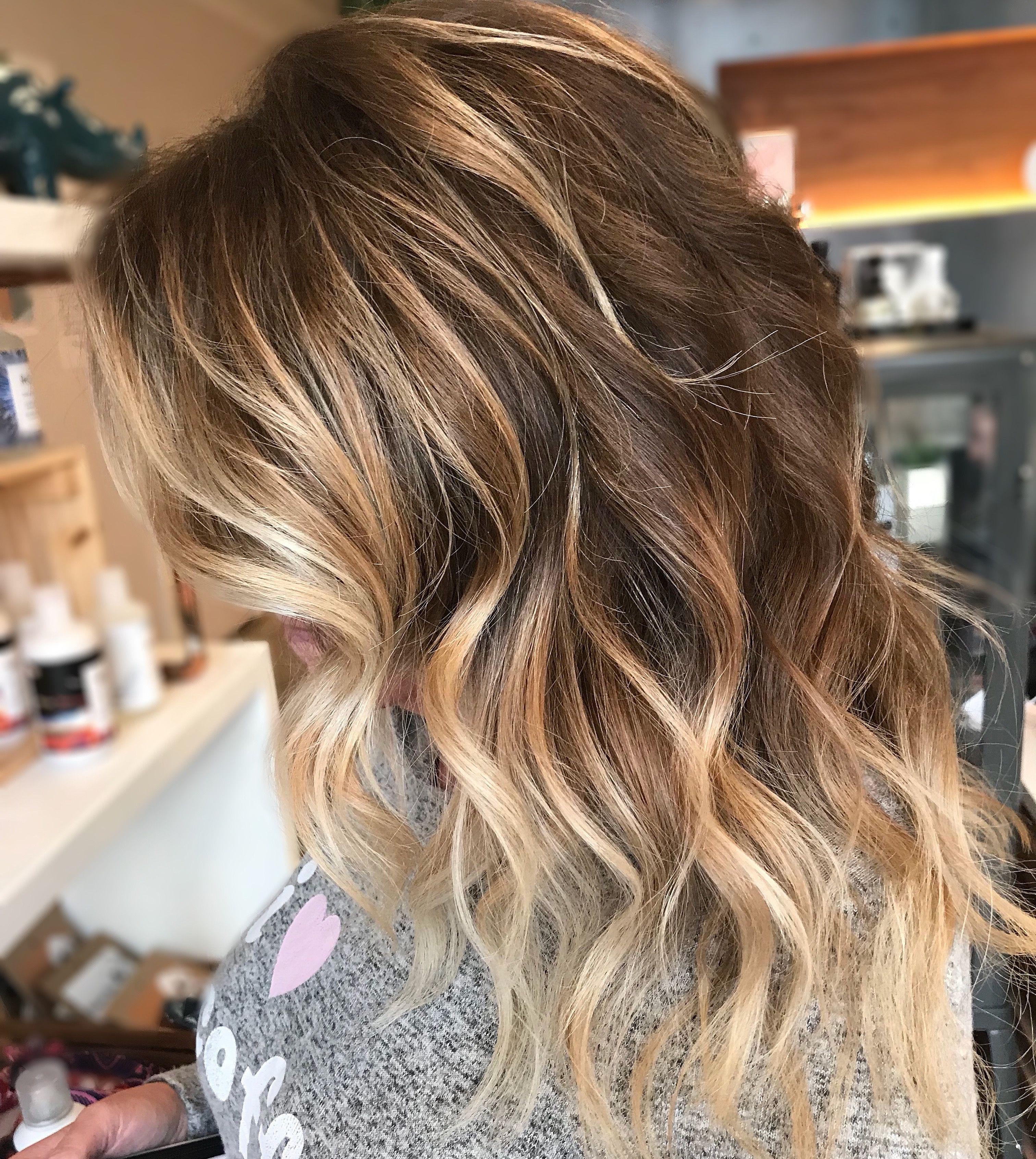 Golden balayage hair cuts and colors pinterest balayage