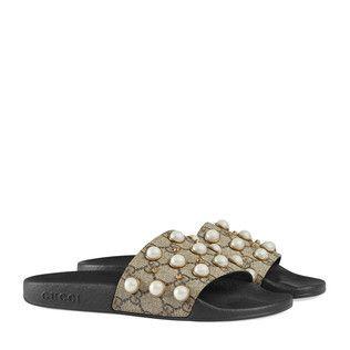 Gucci Mujer - Zapatos - Sandalias Planas  226a41a6cd4