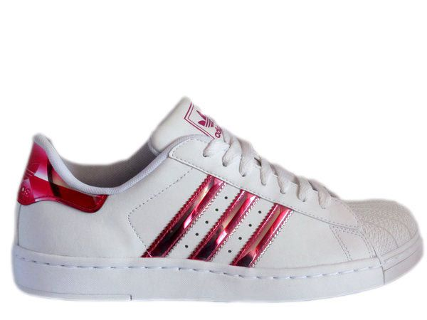 adidas superstar lite j bling sneaker damen schuh farbe wei rot gr 36 2 3 uk4 ebay my. Black Bedroom Furniture Sets. Home Design Ideas