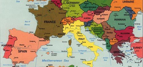 Many countries make up the Mediterranean Region of Southern Europe ...
