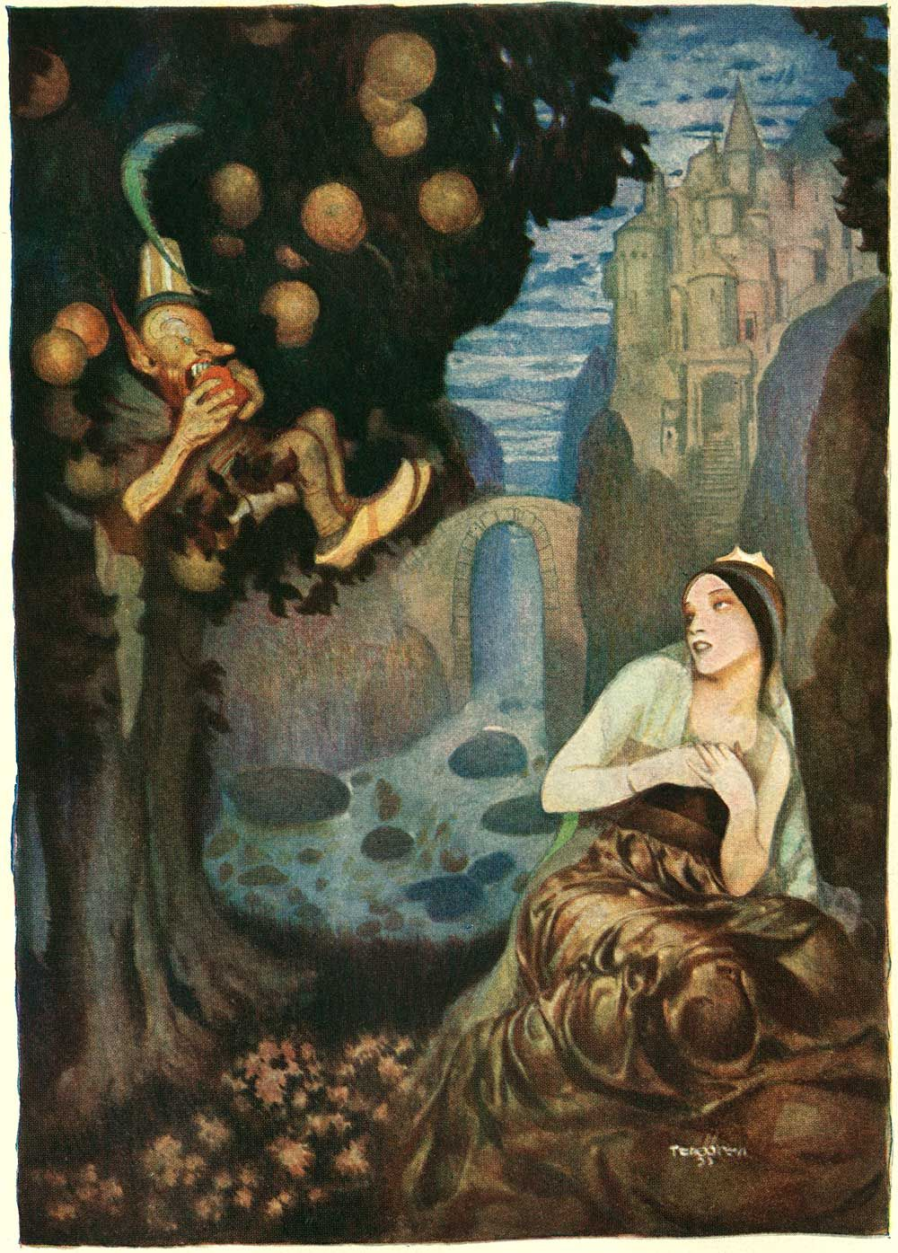 Aulnoy Fairy Tales Illustrated Gustaf Tenggren