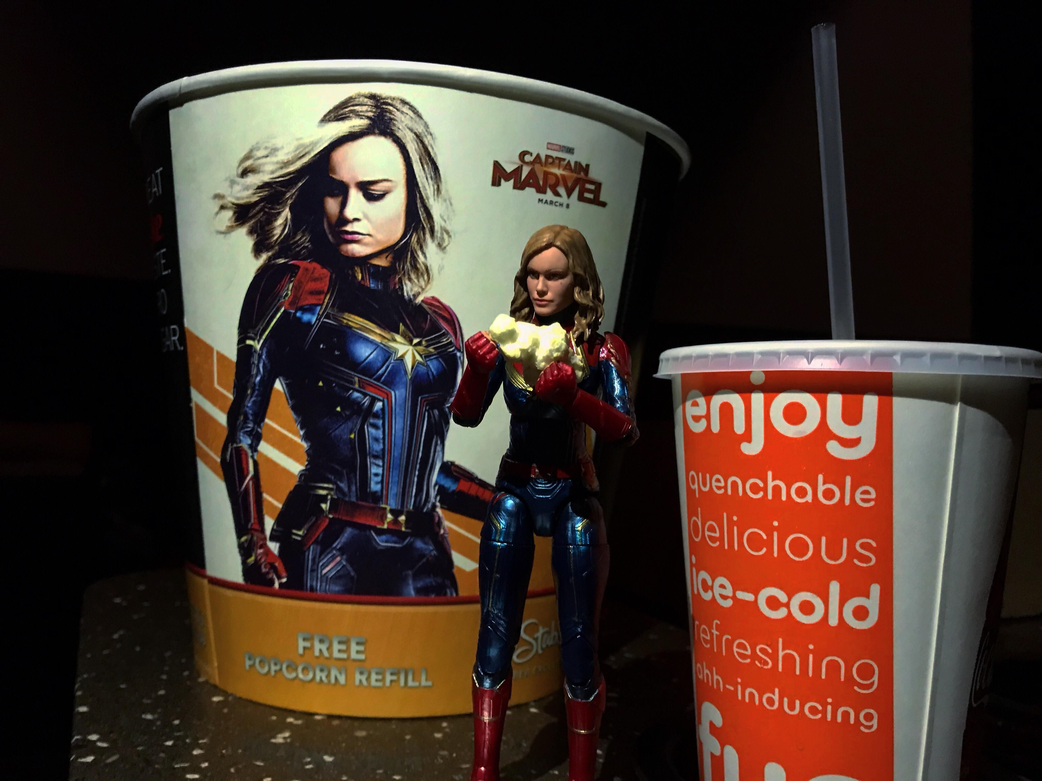 had so much fun at captain marvel today! | marvel | captain marvel