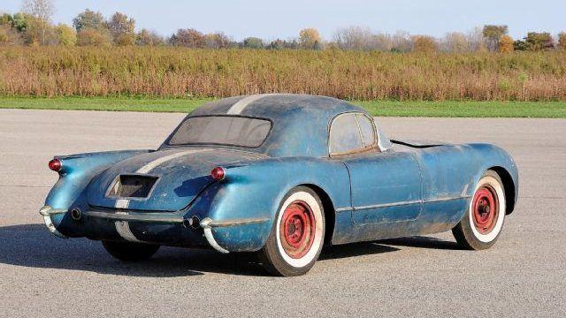 Not For Sale 1955 Corvette Barn Find Story Corvette Barn Find