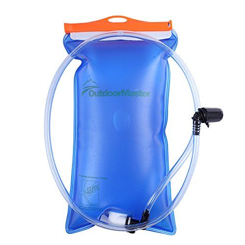 Hydration Bladder Water Reservoir Water Bladder Leakproof Water Bag Hiking Hydration Bladder Bag Backpack System Pack WHITE