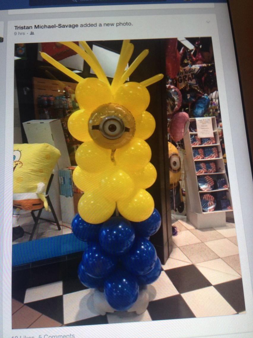 Have a Minion party!