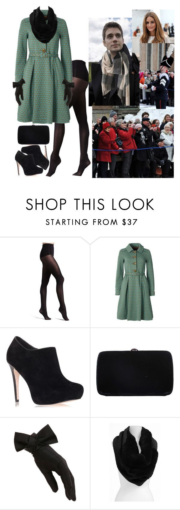 """#Flashback: Crown Prince Henri's Name Day."" by hrhcrownprincess ❤ liked on Polyvore featuring SPANX, Orla Kiely, Miss KG, Sergio Rossi and Lafayette 148 New York"