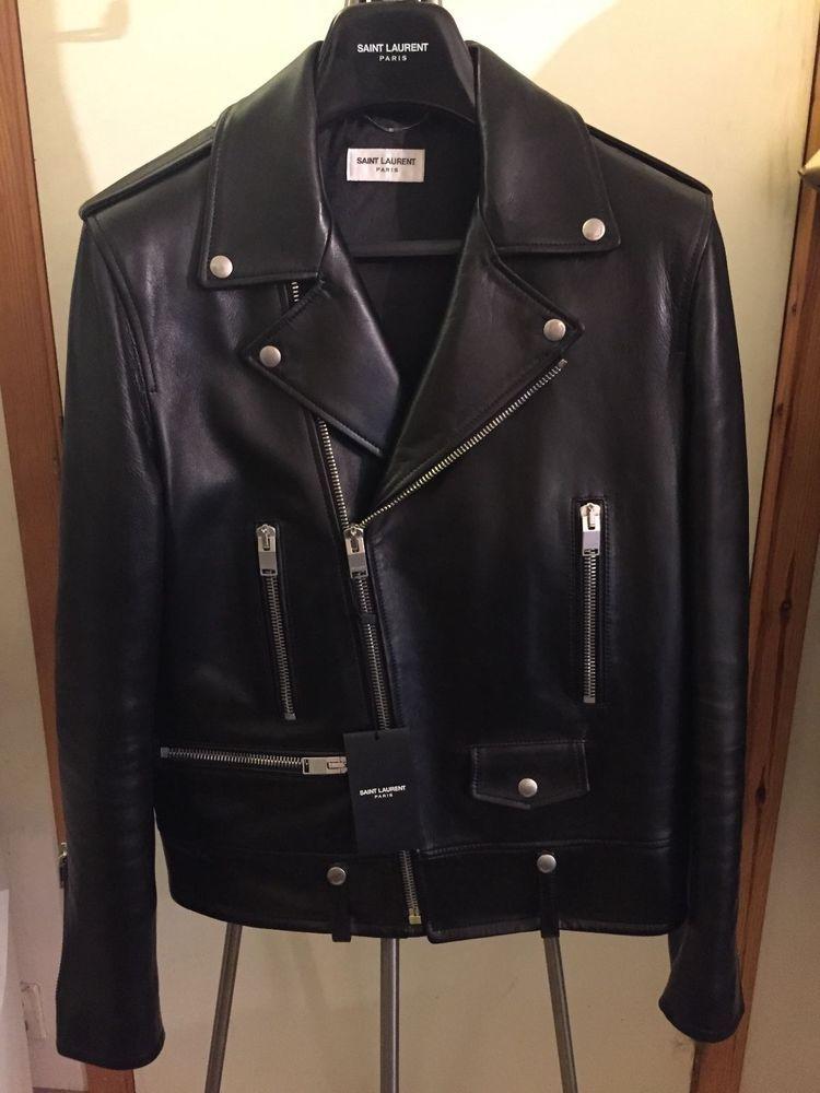 454867984 Saint Laurent Paris L01 Jacket sz.50. Same style as Balmain Givenchy Thom  Browne #SaintLaurentParis #Motorcycle