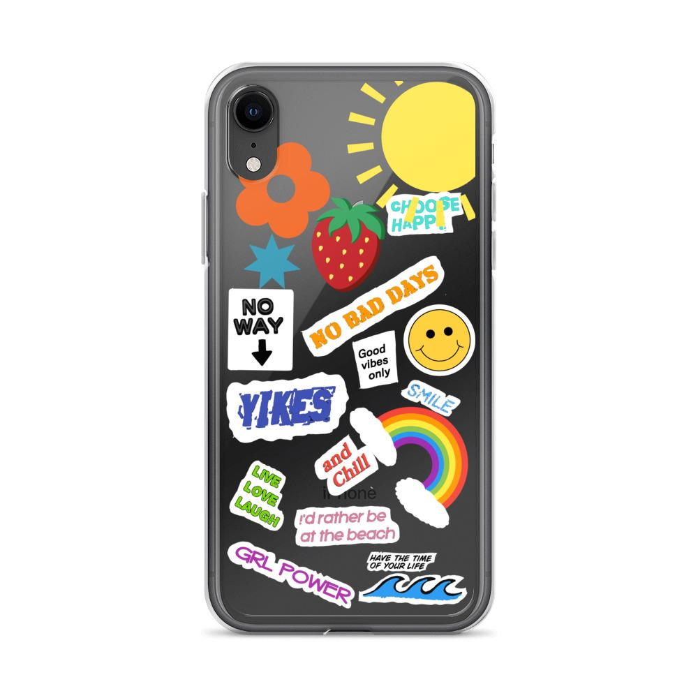 DIY Aesthetic Sticker Look Clear iPhone Case   Iphone ...