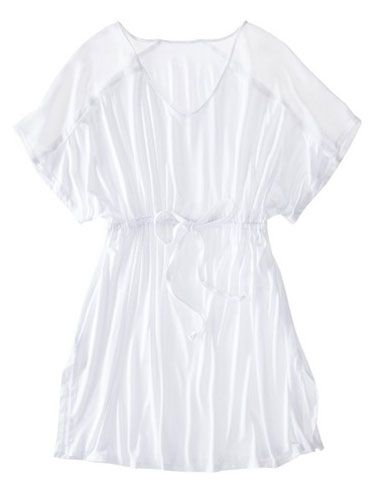 Merona Swim Cover Up Dress: $19.99; target.com #summer #whites #coverup