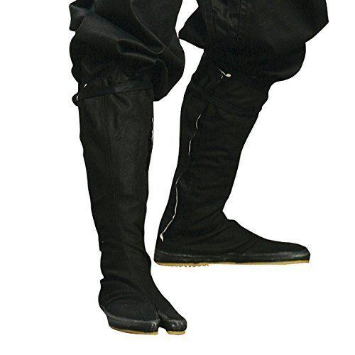 Ninja Tabi Boots, Black Jikatabi