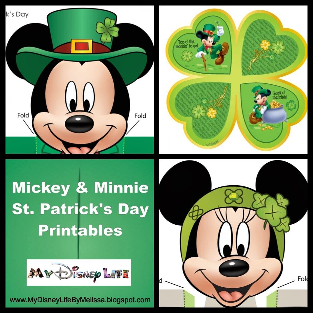 My disney life mickey and minnie st patrick 39 s day - Disney st patricks day images ...