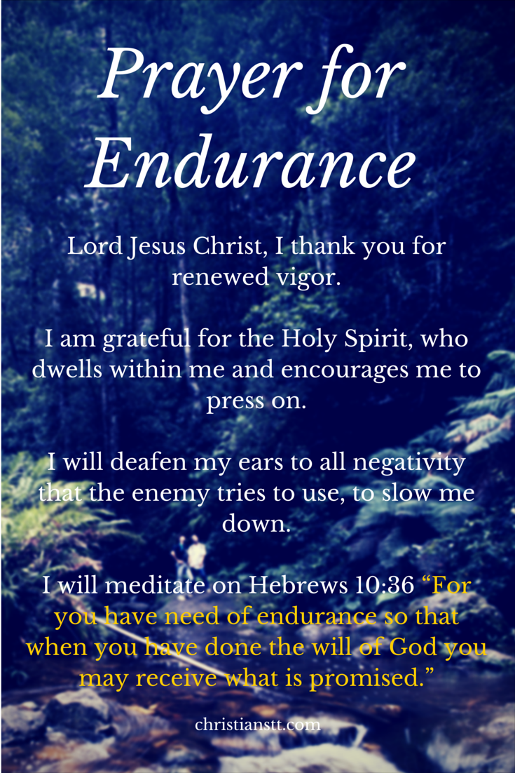 prayer for endurance and perseverance | faith | pinterest | prayers