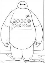 25 Big Hero 6 Printable Coloring Pages For Kids Find On Book Thousands Of