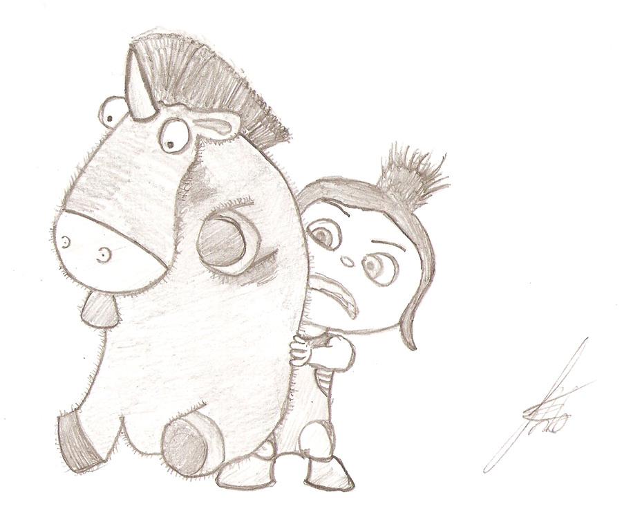 draw agnes from despicable me - Google Search | What to ...