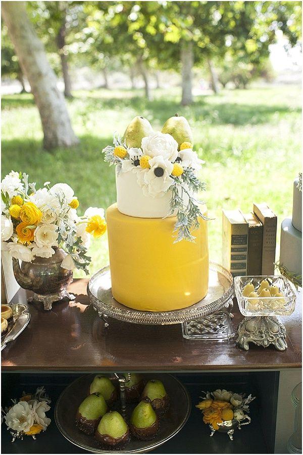 Perfect Pear Dessert Table | Cake: Bold + Bright | Pinterest | Pear ...