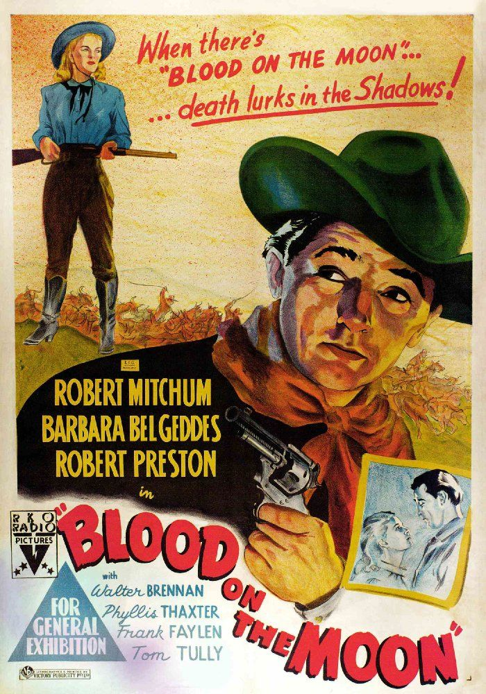 Image result for BLOOD ON THE MOON ( 1948 ) POSTER