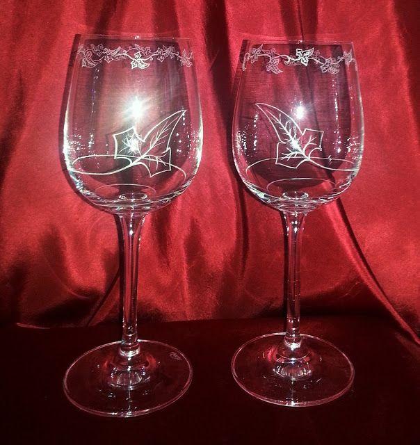 Copas De Estilo élfico Glass Crystals Glassware