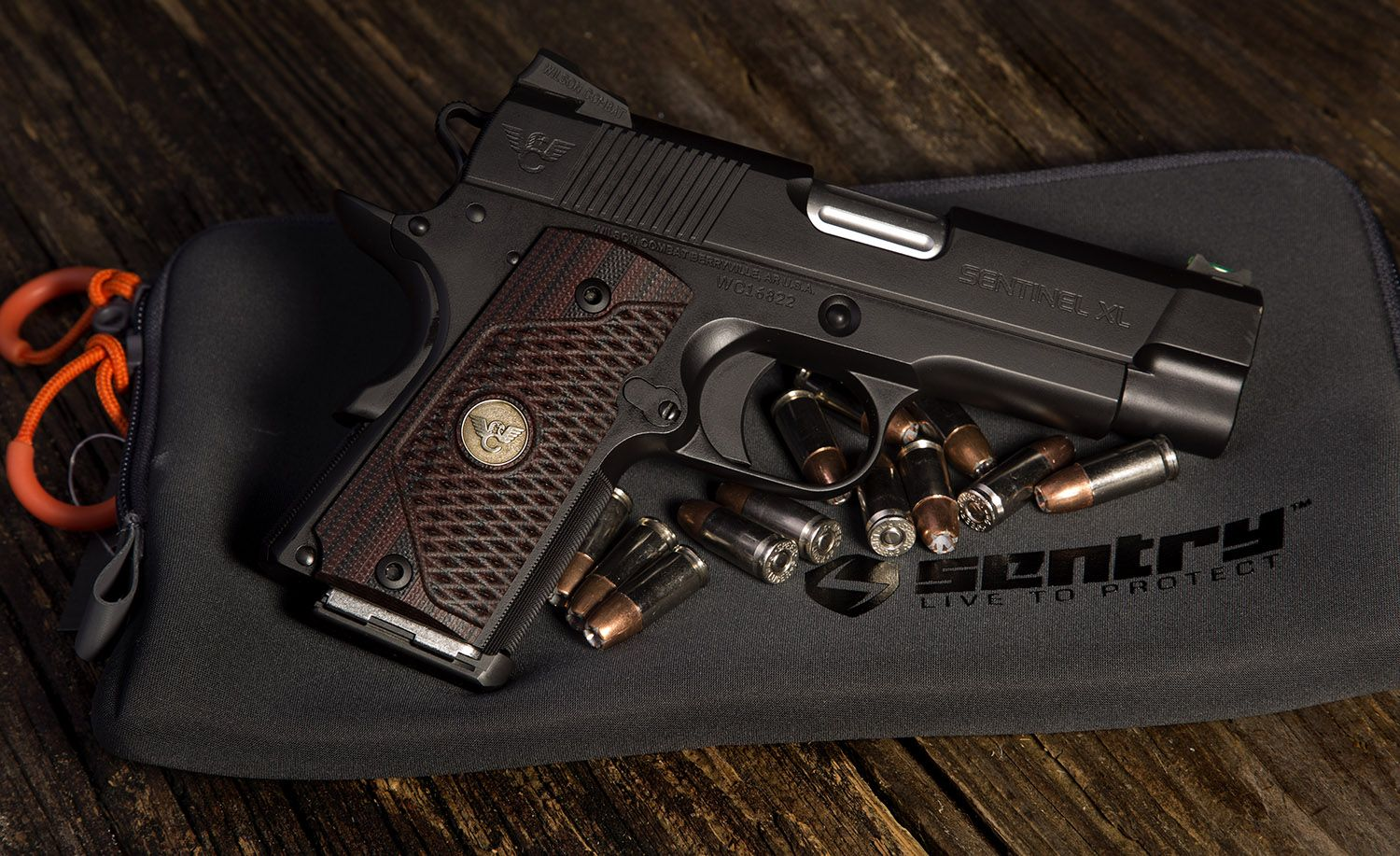 VZ Grips and Wilson Combat have joined forces on this Sentinel XL