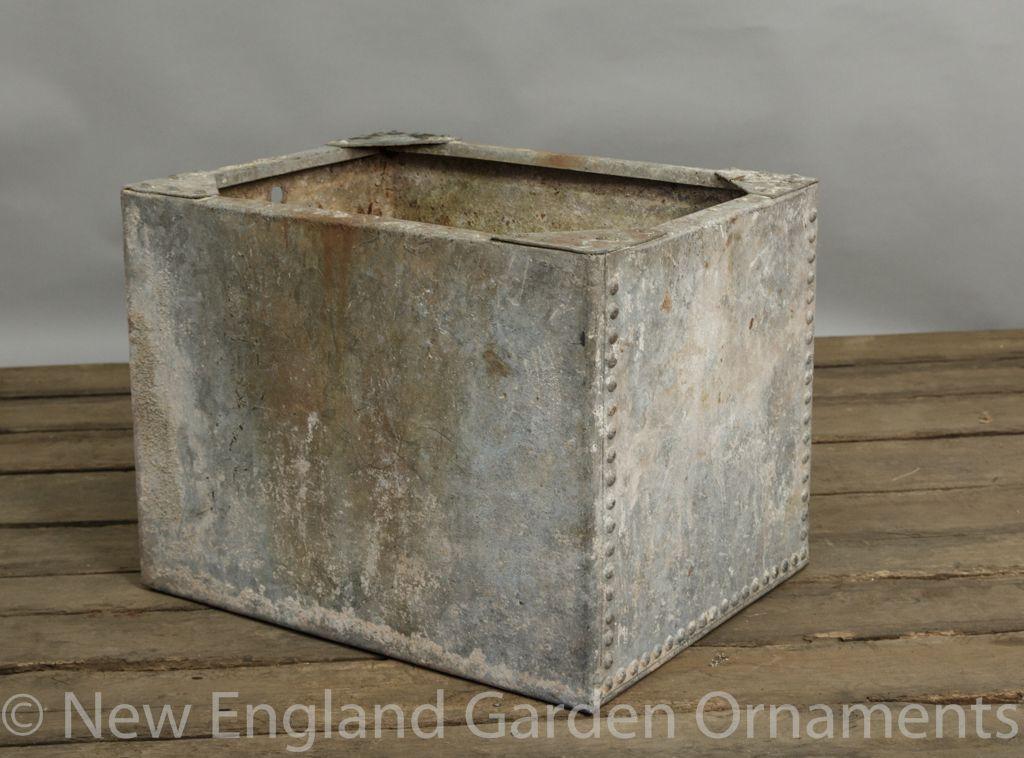 Vintage Water Trough 27 New England Garden Company In 2020 Garden Ornaments For Sale Trough Galvanized Trough