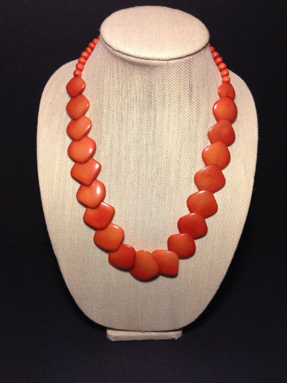 This tagua nut necklace was handmade in Ecuador by girls recovering from trafficking.  All proceeds go back to them!