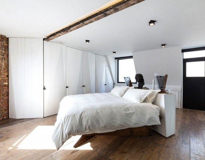 Schlafzimmer Ideen in Weiß \u2013 75 moderne Einrichtungsbeispiele - schlafzimmer ideen weis modern