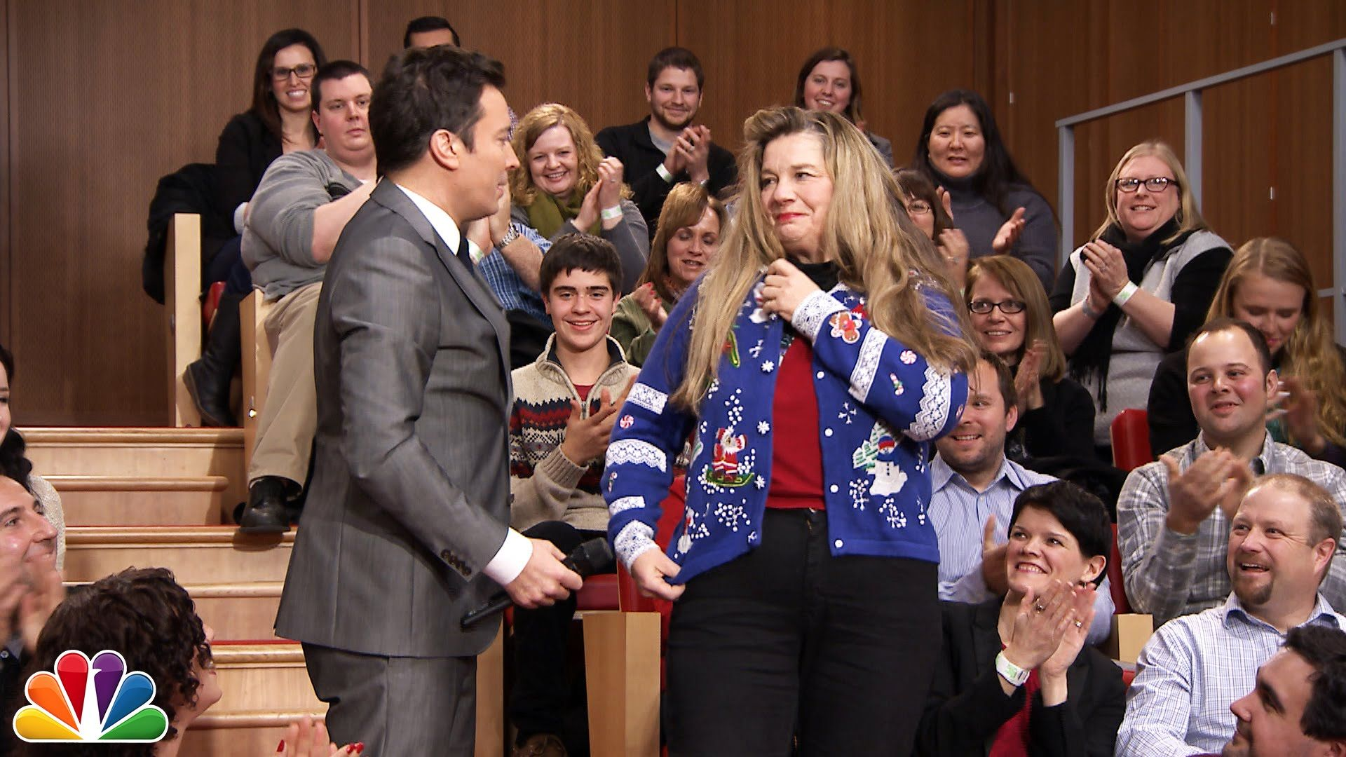 12 Days of Christmas Sweaters: Day 2 | The Show | Pinterest | Jimmy ...