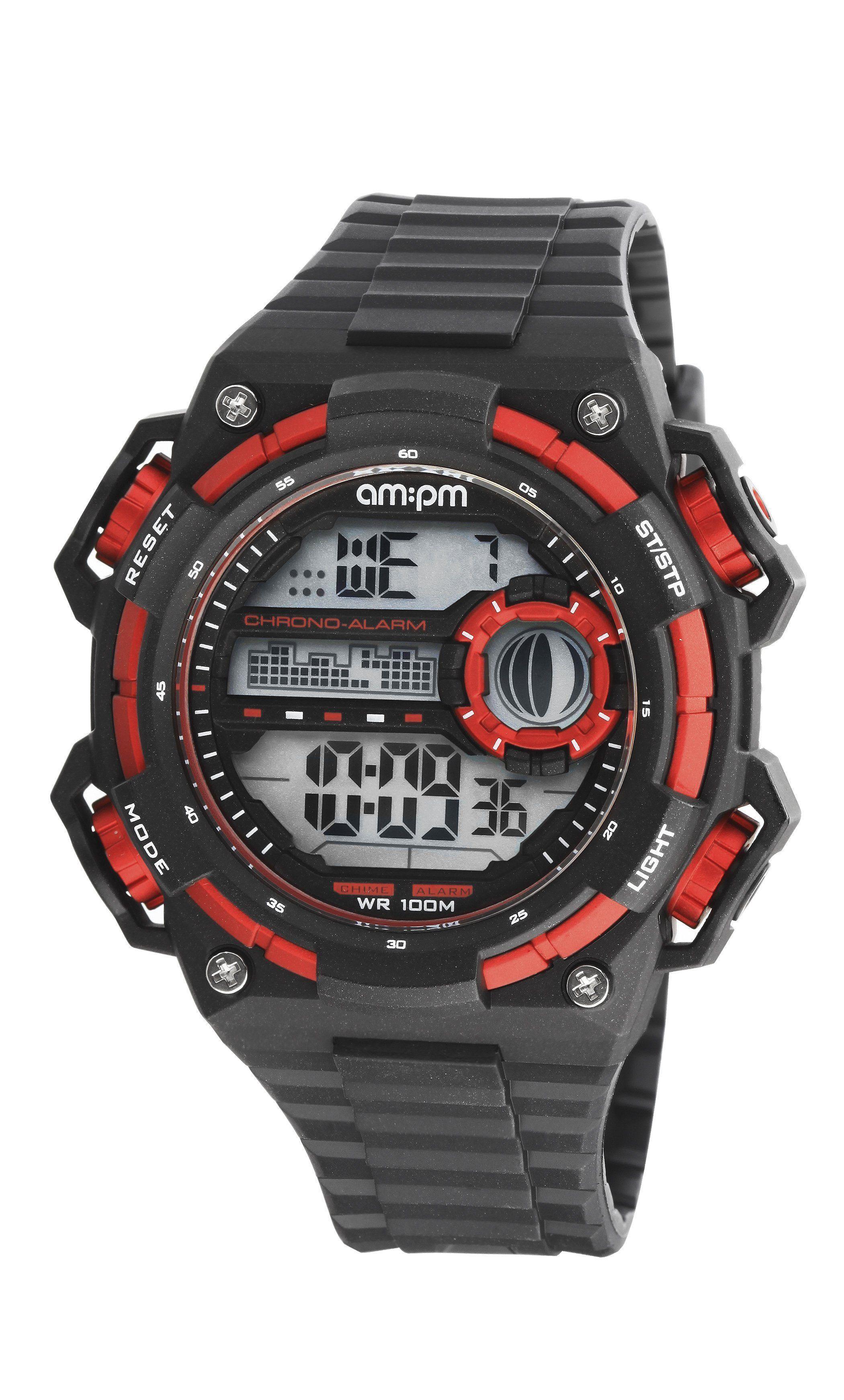 how to set armitron watch alarm