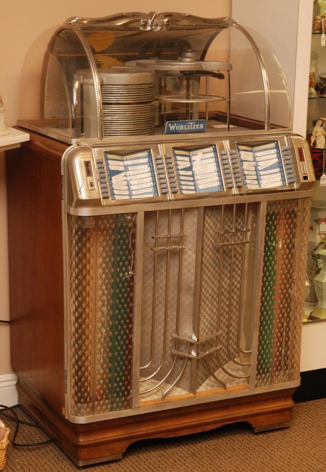 Wurlitzer 1400 Jukebox United States Ca 1950 1951